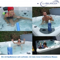 Canadian Spa ohne Chlor mit SpaBalancer