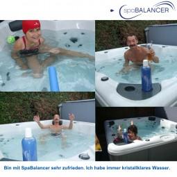 Canadian Spa ohne Chlor mit SpaBalancer