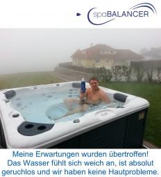 Canadian Spa Whirlpool ohne Hautprobleme mit SpaBalancer