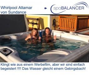 gebrauchter Whirlpool Altamar von Sundance