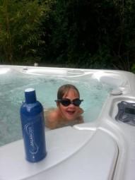 Hotspring Pool mit SpaBalancer