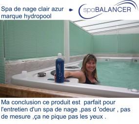 spa de nage clair azur marque hydropool recommandations spabalancer. Black Bedroom Furniture Sets. Home Design Ideas